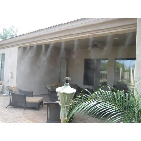 НОВО Система за охлаждане (водна мъгла) - 7,5м, 5 бр. ПОДВИЖНИ месингови дюзи
