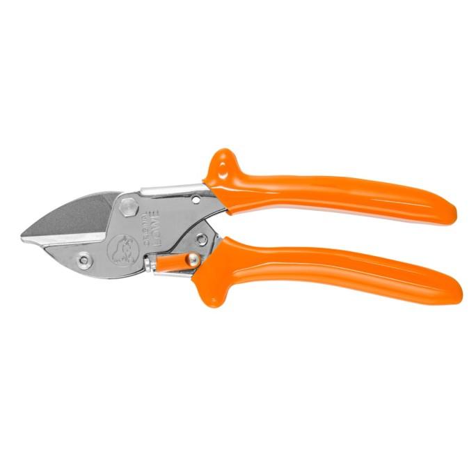 Овощарска ножица с извита ръкохватка с тесен връх (тип секатор) LOWE 5
