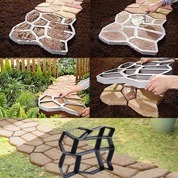 Щампа (форма) за градински павета за пътека