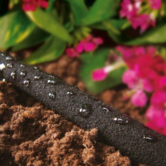 Градински капков маркуч за напояване 20 м (надземно и подземно използване)