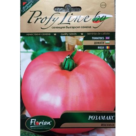 Домат Розамакс - много едри плодове до 1,5 кг.