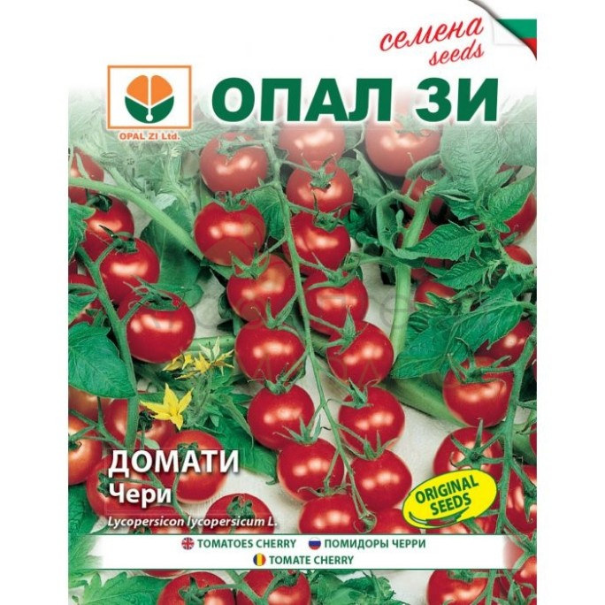 Чери домати червени