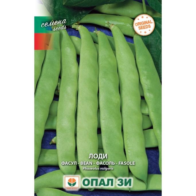 Фасул Лоди (зелен, плосък, нисък)