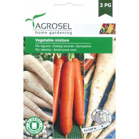 Семена на лента зеленчуков микс (Пъщарнак, Моркови, Магданоз коренов)