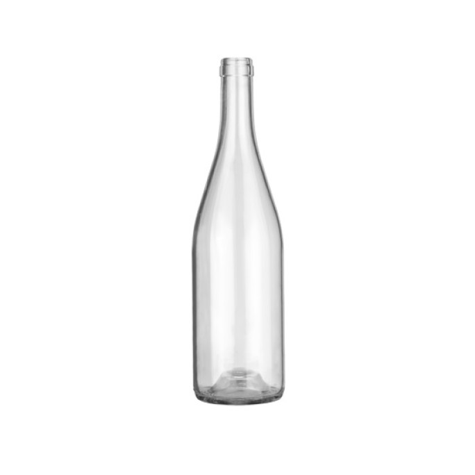 Стъклена Бутилка Бургундия традиционна 750мл