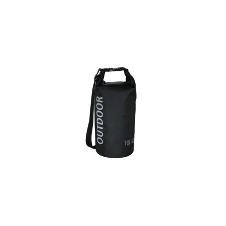 Водоустойчива чанта, 10 л черна