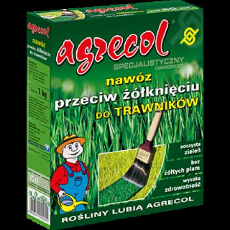 Agrecol - Тор за тревни площи против пожълтяване - 1 кг.