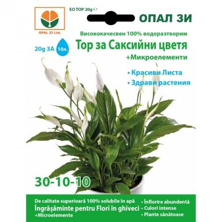 Тор за Стайни растения + микроелементи (30-10-10)