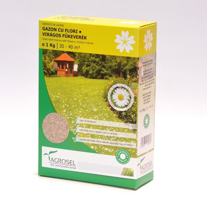 Тревна смеска с многогодишни парички (Bellis perennis) 1кг